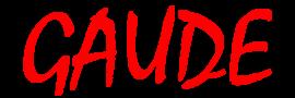 """Logo chóru """"Gaude"""""""