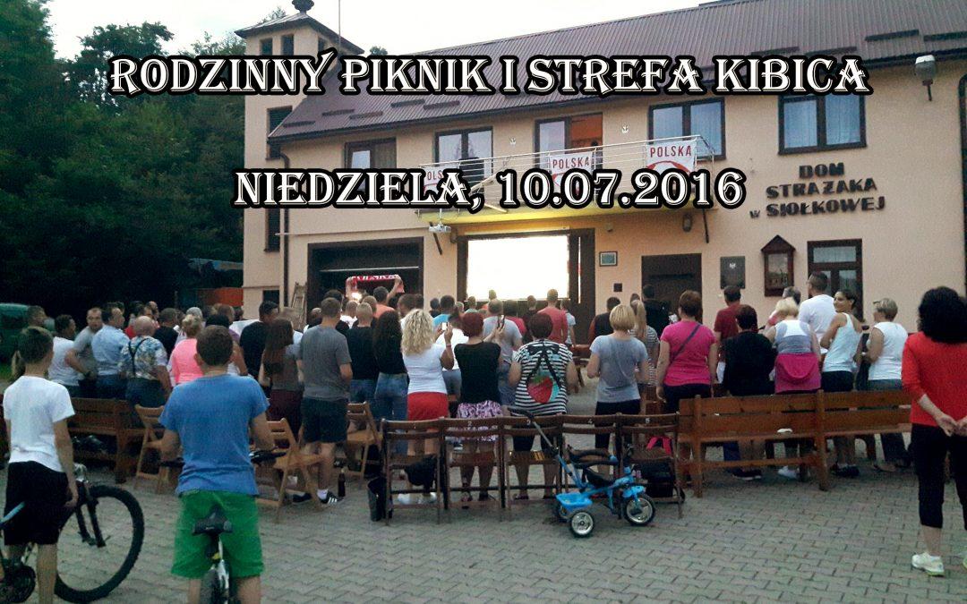 Piknik i zabawy rodzinne oraz strefa kibica w Siołkowej