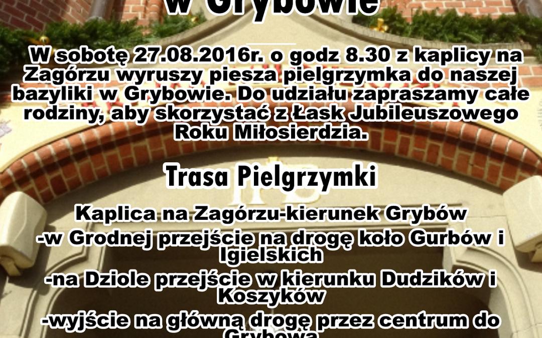 Piesza Pielgrzymka z Siołkowej do Bramy Miłosierdzia w Grybowie