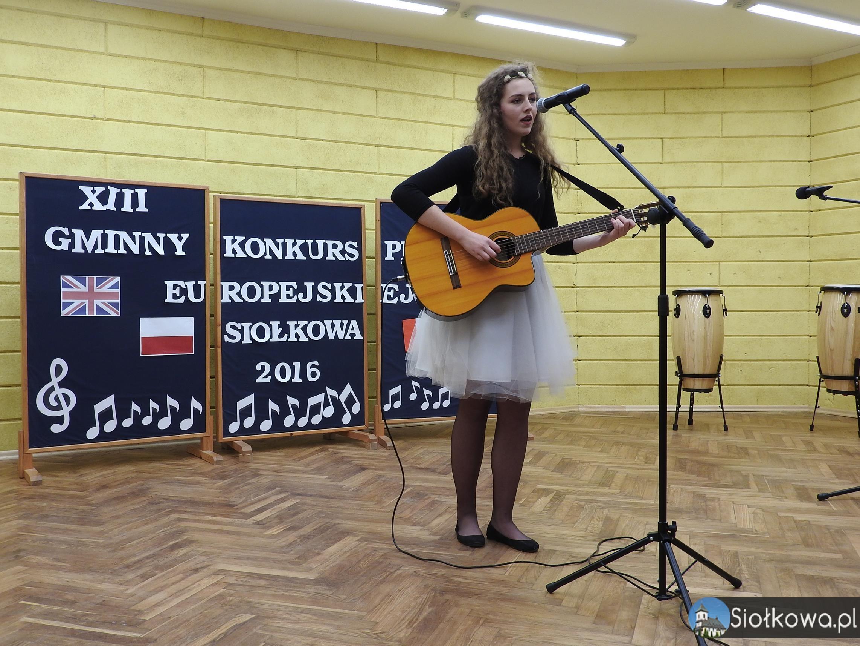 XIII Gminny Konkurs Piosenki Europejskiej – Siołkowa 2016