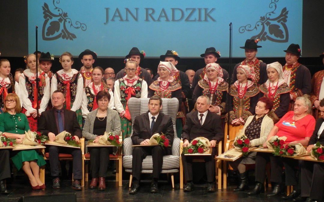 "Jan Radzik – ""Sądeczanin Roku 2016"""