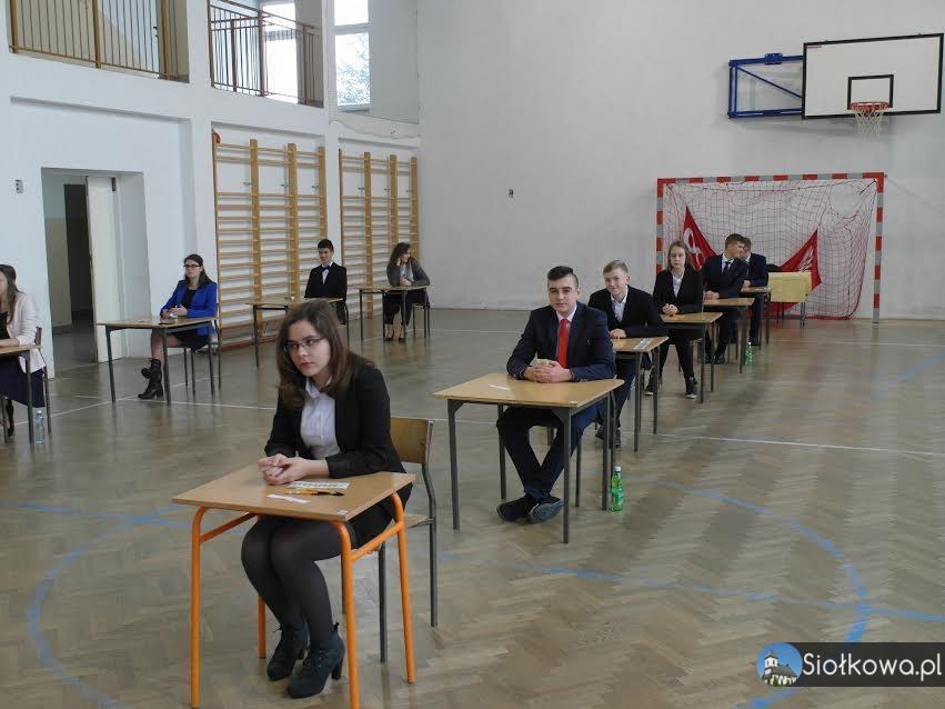 Uczniowie z Siołkowej przystąpili do egzaminów gimnazjalnych 2017!