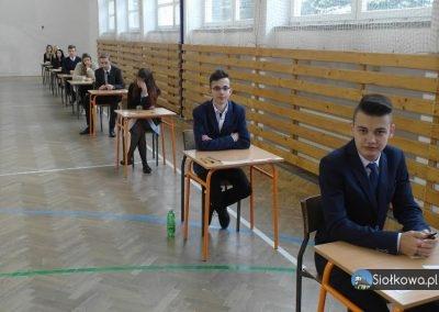 Uczniowie gimnazjum klas trzecich z Siołkowej przystąpili do egzaminów gimnazjalnych 2017!