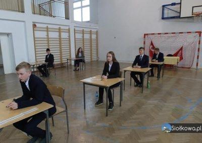 Uczniowie gimnazjum klasy trzeciej z Siołkowej przystąpili do egzaminów gimnazjalnych 2017!