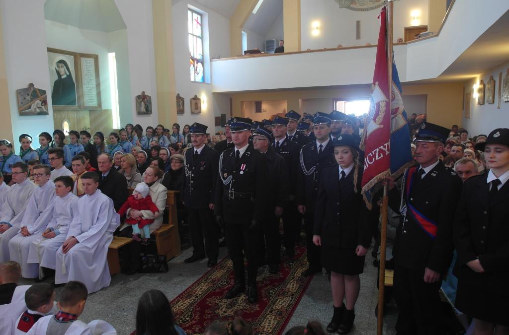 Uroczystość odpustowa w kaplicy pw. Miłosierdzia Bożego w Siołkowej-Zagórze.