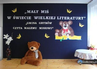 """Gmina Grybów czyta Małemu Misiowi – Rozstrzygnięcie konkursu """"Miś Gminy Grybów"""""""