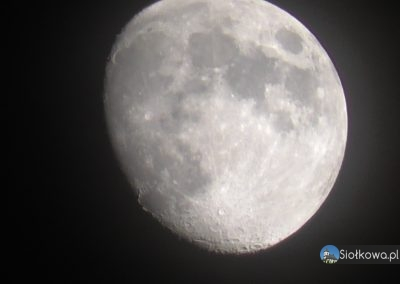 Księżyc Siołkowa Wojciechowa Góra Gmina Grybów