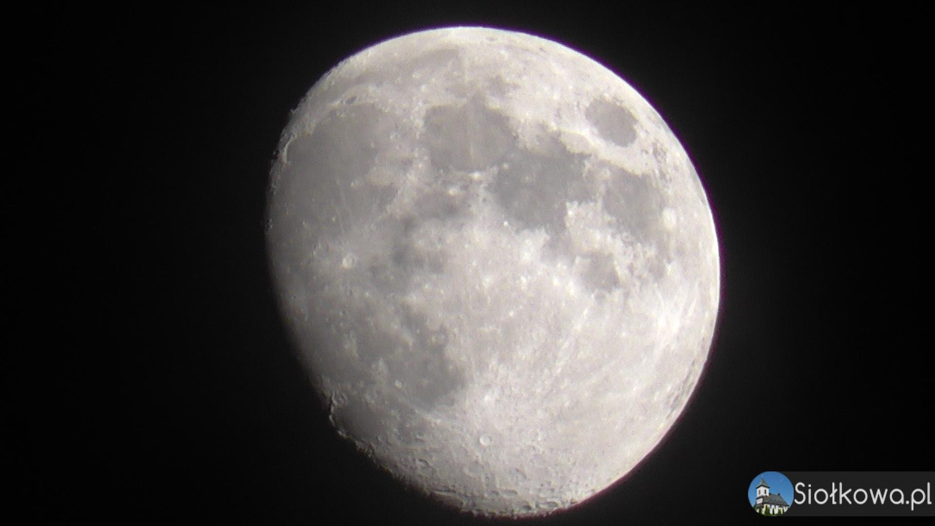 Obserwacja księżyca z Siołkowej