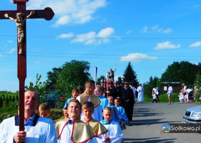 Uroczystość Najświętszego Ciała i Krwi Chrystusa - Siołkowa-Zagórze006