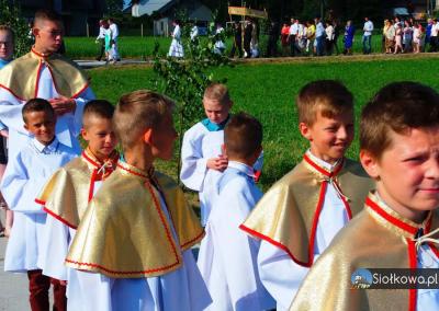 Uroczystość Najświętszego Ciała i Krwi Chrystusa - Siołkowa-Zagórze019