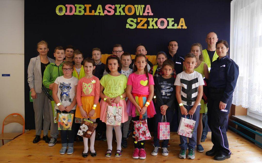 Odblaskowa szkoła w Siołkowej
