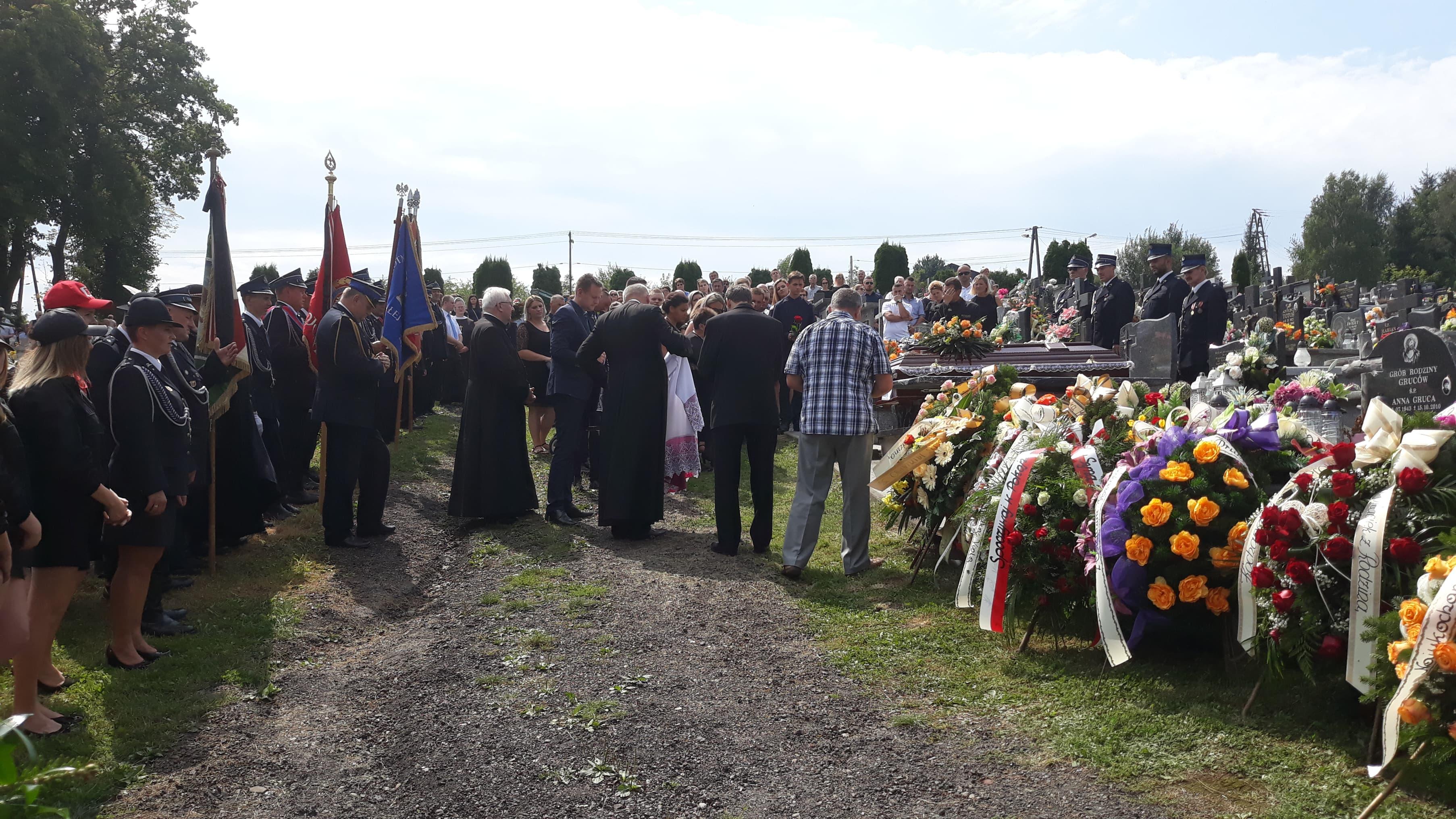 Pogrzeb Józefa Sekuły