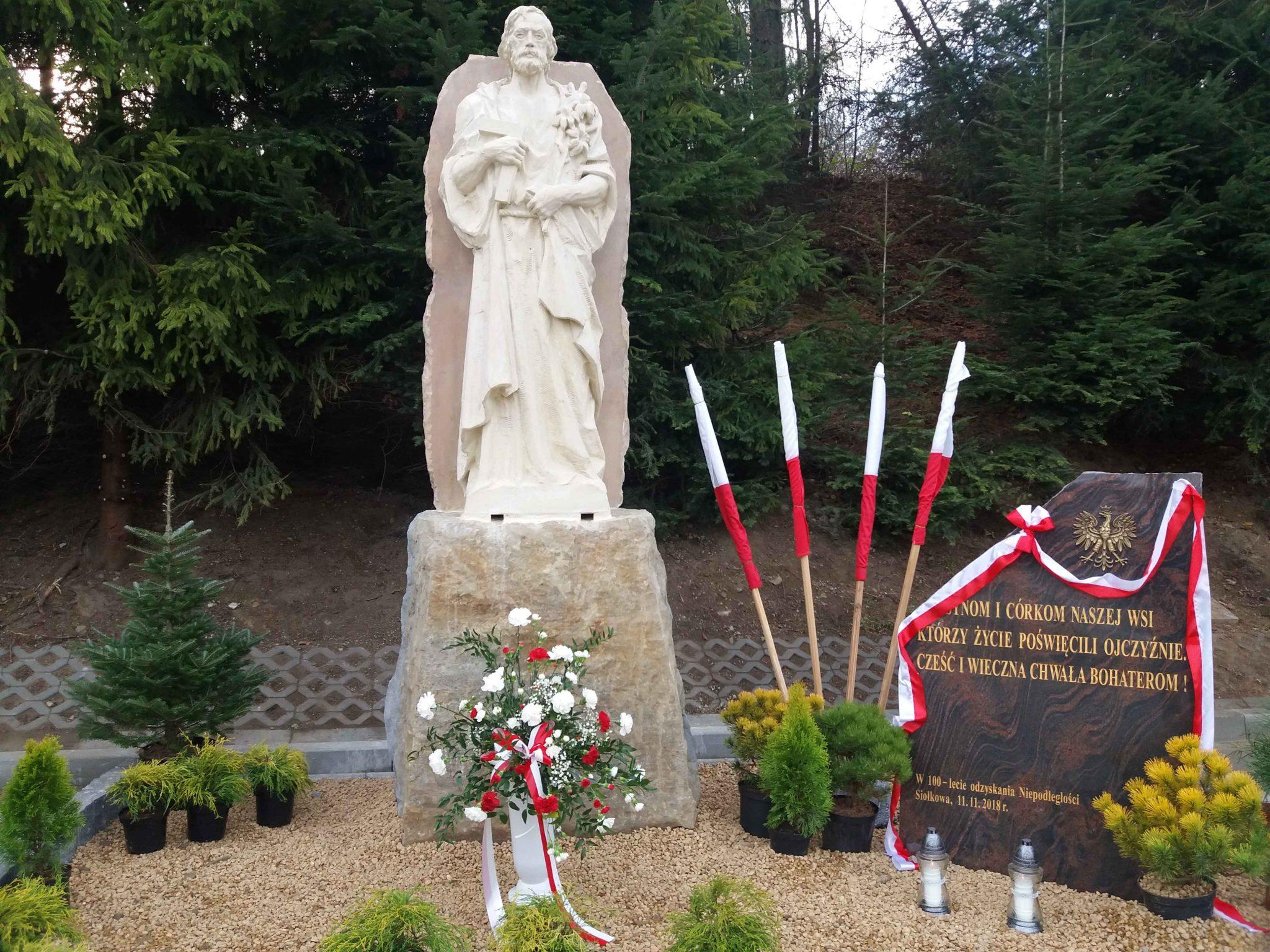 Poświęcenie figury św. Józefa + akademia patriotyczna