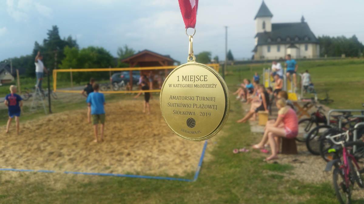 I Amatorski Turniej Siatkówki Plażowej w Siołkowej (2019) - relacja, wyniki